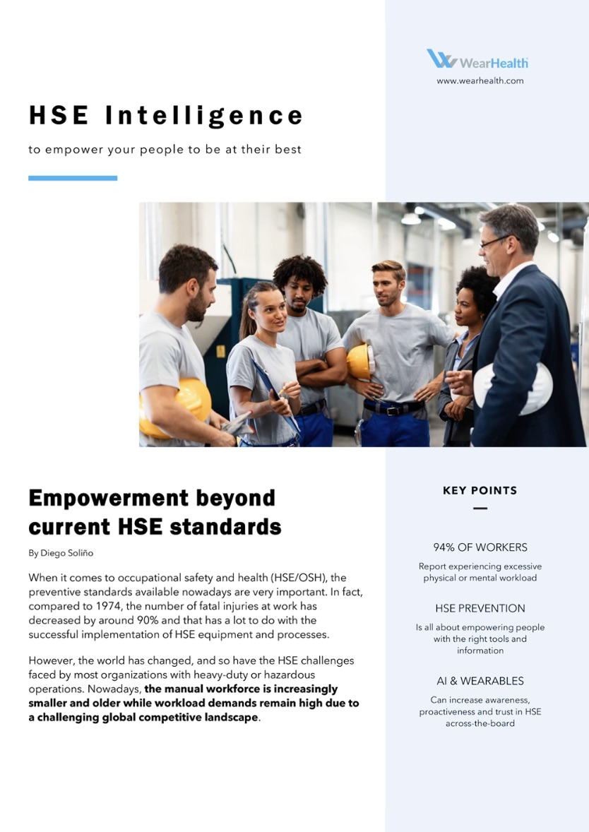 Safety and Health Intelligence White Paper
