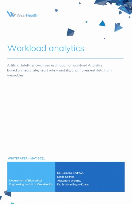 workload analytics white paper | WearHealth